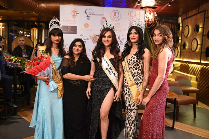 Shaine Soni Crowned Miss Trans Queen India 2020